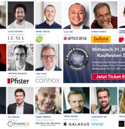 E-Commerce Connect Konferenz und Award Preisverleihung praktisch ausverkauft